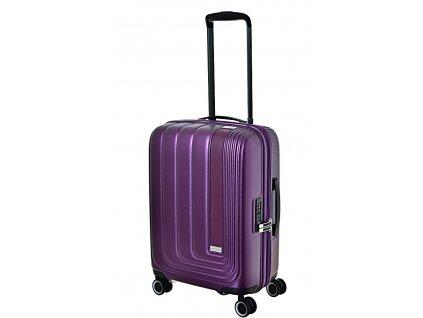 170155 7 cestovni kufr march beau monde s purple metallic