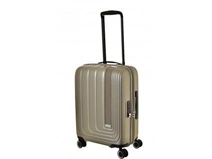 170164 7 cestovni kufr march beau monde s silver bronze metall