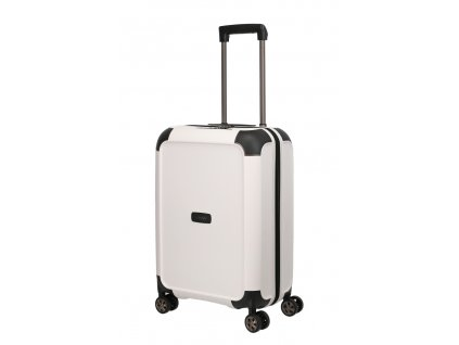 172882 6 cestovni kufr titan compax 4w s usb white
