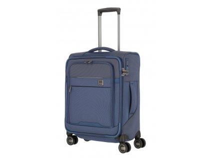 174523 8 cestovni kufr titan prime 4w s modra