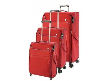 170830 1 cestovni kufry set 3ks dielle s m l red
