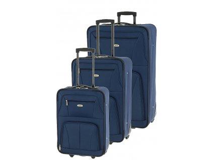168217 1 cestovni kufry set 3ks dielle s m l modra