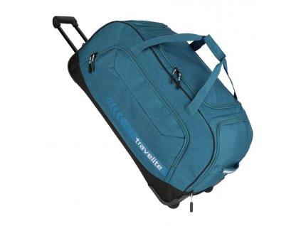 172378 3 cestovni taska na koleckach travelite kick off xl blue