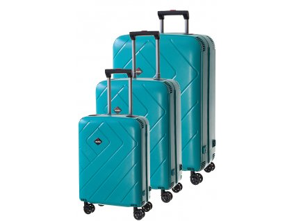 170779 1 cestovni kufry set 3ks dielle s m l petrolejova