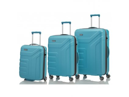 170851 1 cestovni kufry set 3ks travelite vector s m l blue