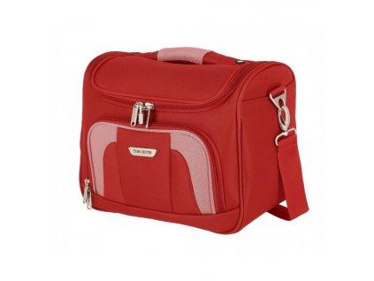164848 4 kosmeticky kufr travelite orlando red
