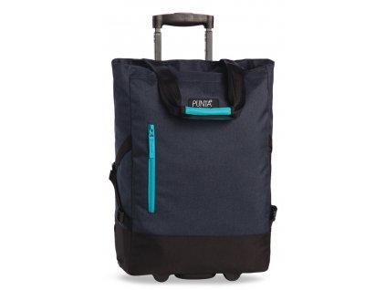 170038 7 nakupni taska na koleckach punta wheel blue