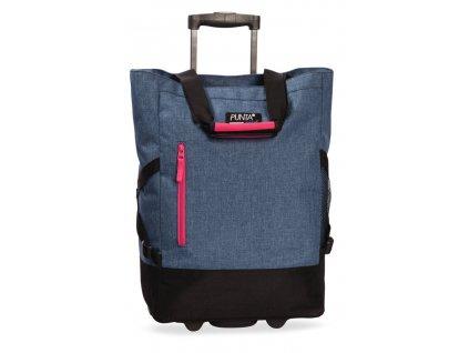 169804 7 nakupni taska na koleckach punta wheel blue