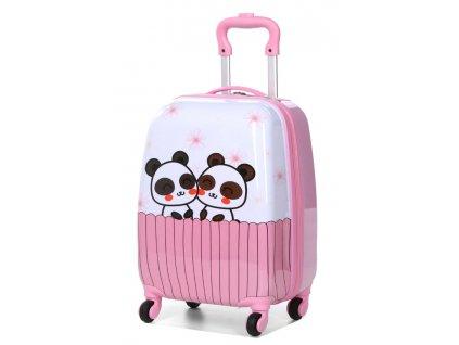 20018N detsky kufr pandy 1
