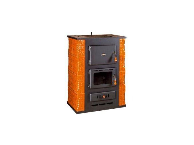 Kachľové pece s teplovodným výmenníkom Prity S3W13 K