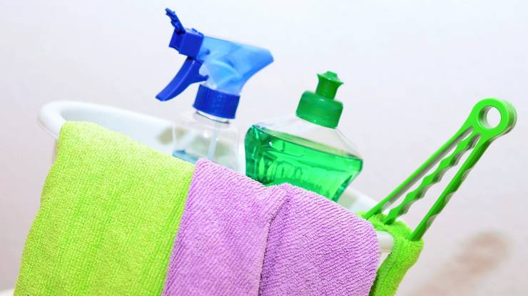 Najlepšie tipy na dezinfekciu povrchov.