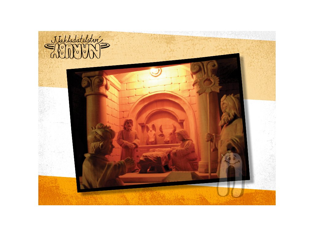 Prezentace pohlednic Betlém chlév
