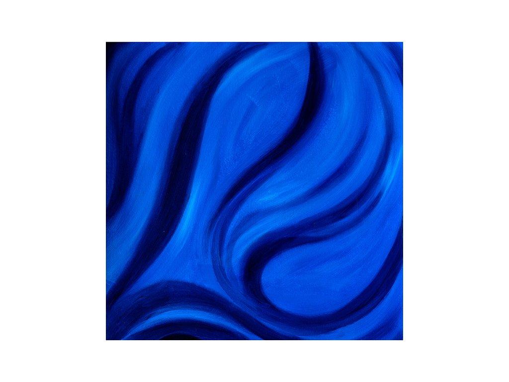Modré vlnění - obraz