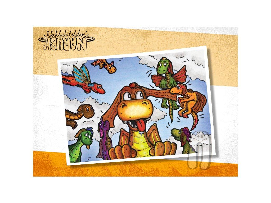 Prezentace pohlednic Dračí prťata Přesilovka