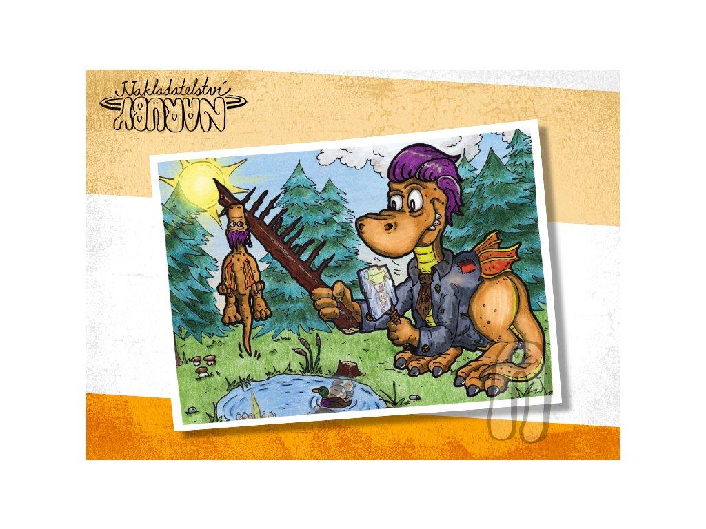 Prezentace pohlednic Dračí prťata Fešák