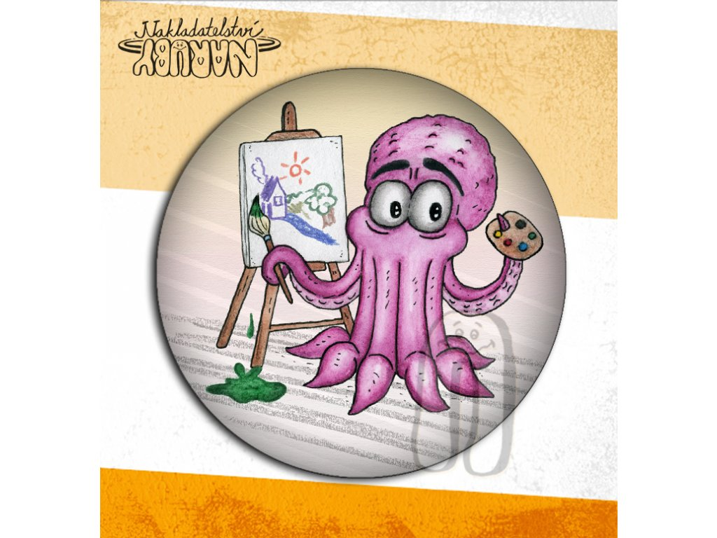 Prezentace placek chobotnice malíř