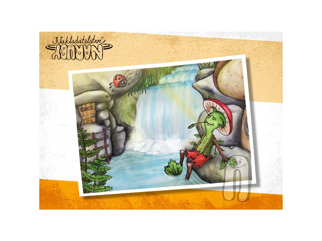 Prezentace pohlednic Roční skřítci Letňák