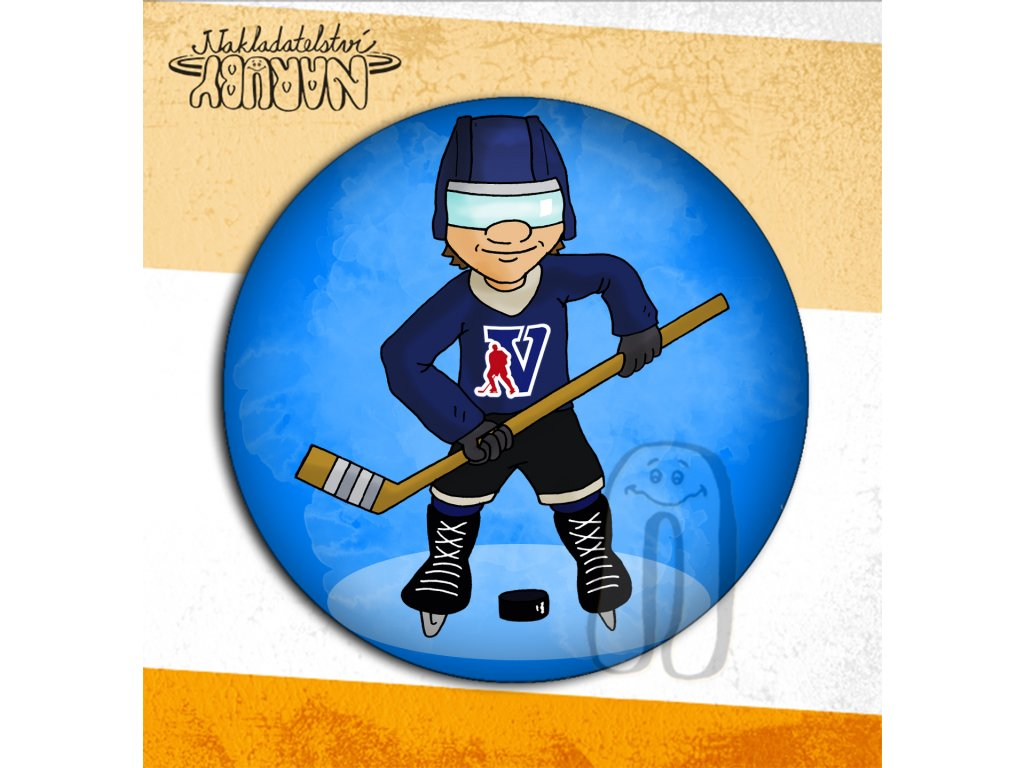 Prezentace placek Hokejista