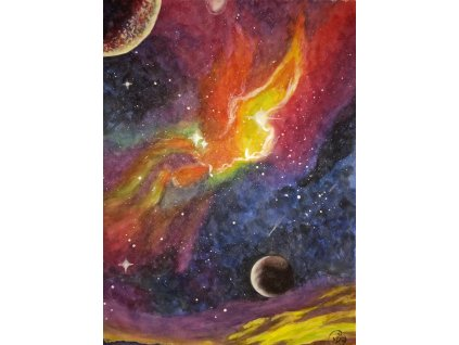 Vesmír - obraz