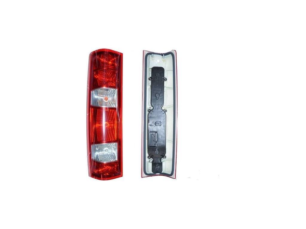 Zadní světlo Iveco Daily 2006 Van Pravé s lištou na žárovky