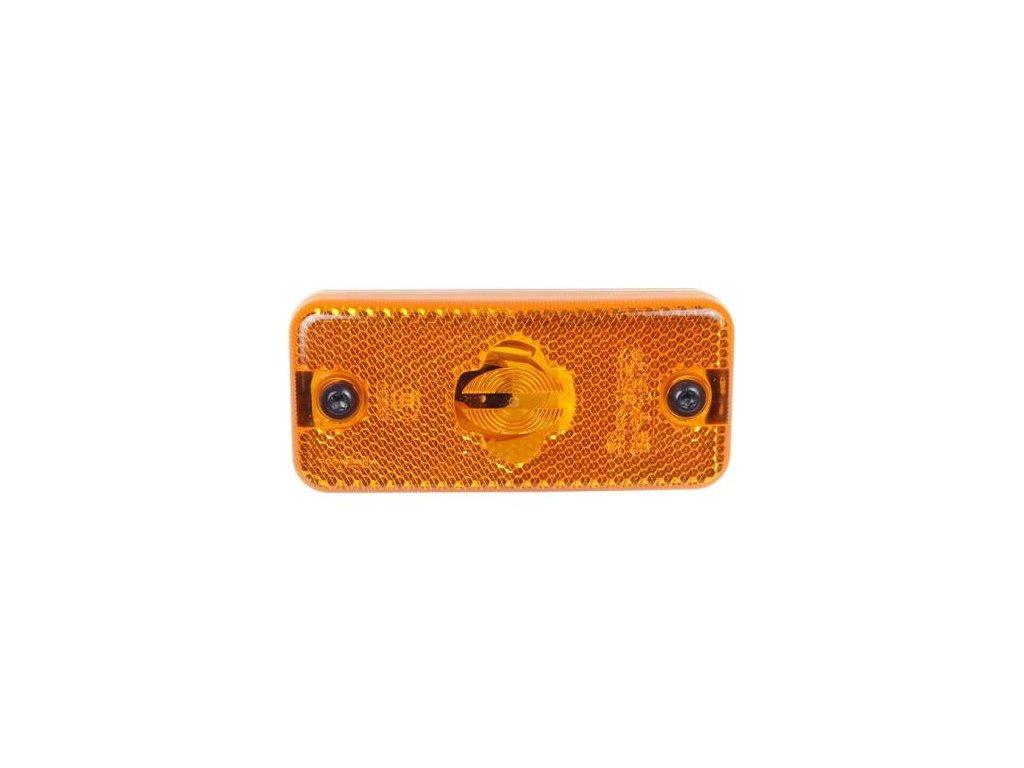 Poziční světlo Iveco Daily oranžové Van