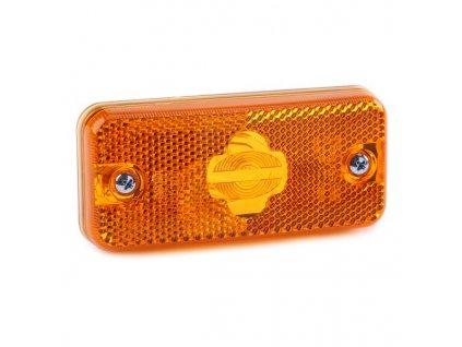 Poziční světlo Iveco Daily, Stralis, Fiat Ducato oranžové