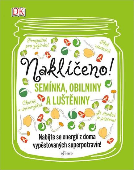Kniha o klíčení s recepty