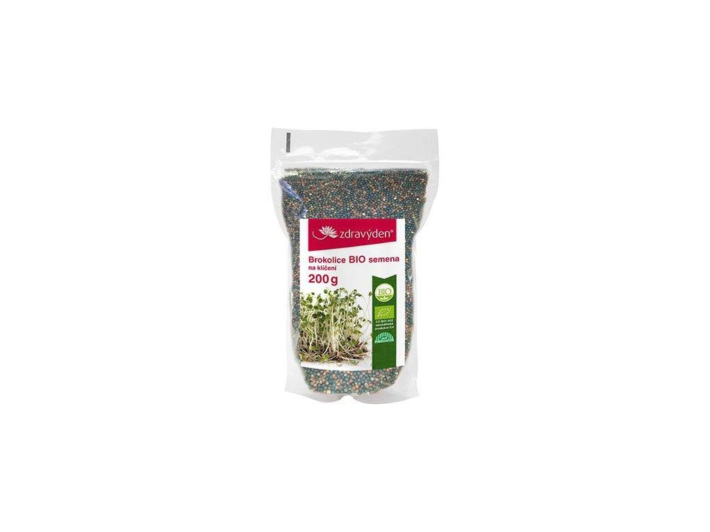 Brokolice BIO semena na klíčení 200g