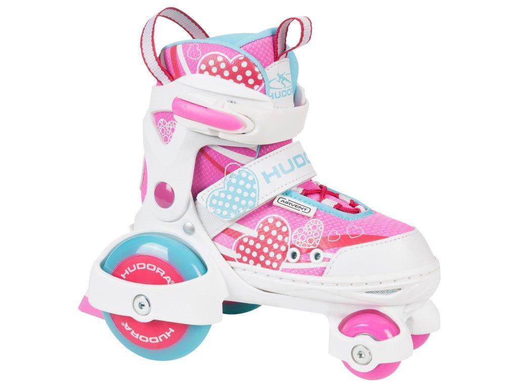 Kolieskové korčule HUDORA My First Quad Girl, veľ. 26-33