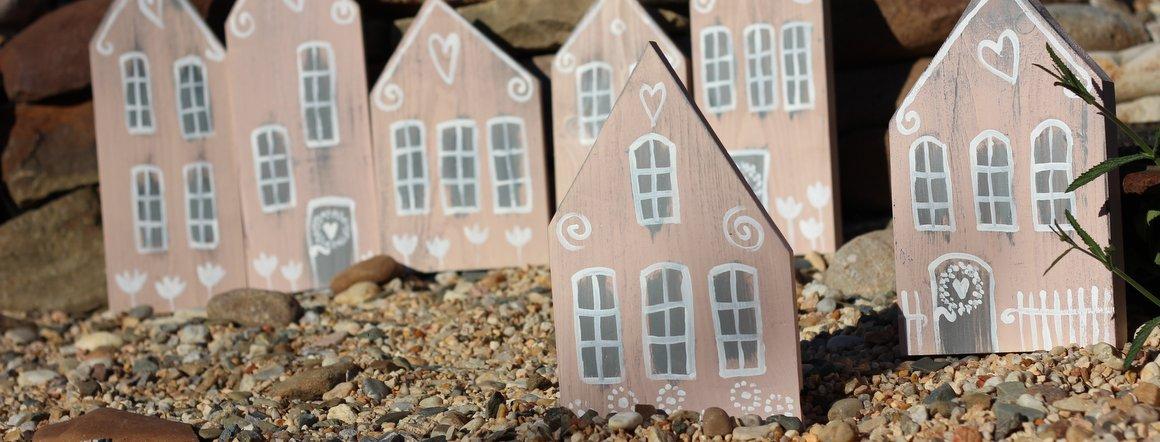 Dekorace domečky