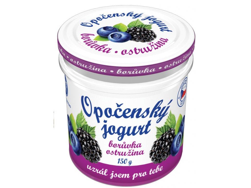 Opočenský jogurt borůvka ostružina