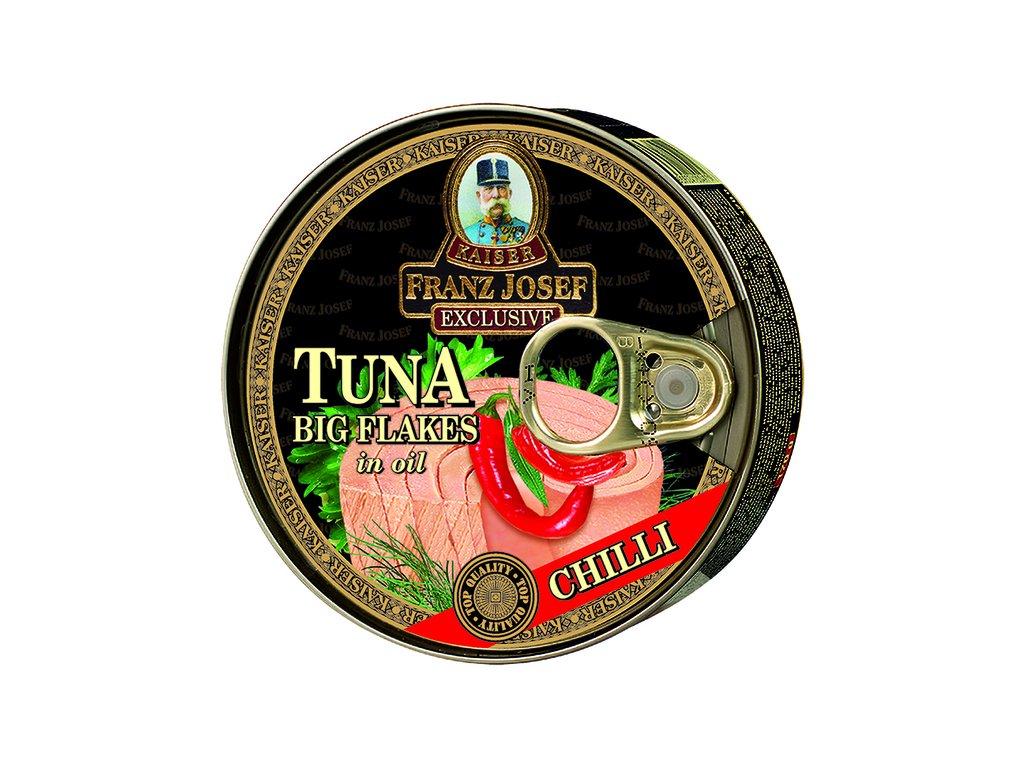 Tuna FJK Big flakes CHILLI s pruhem 2