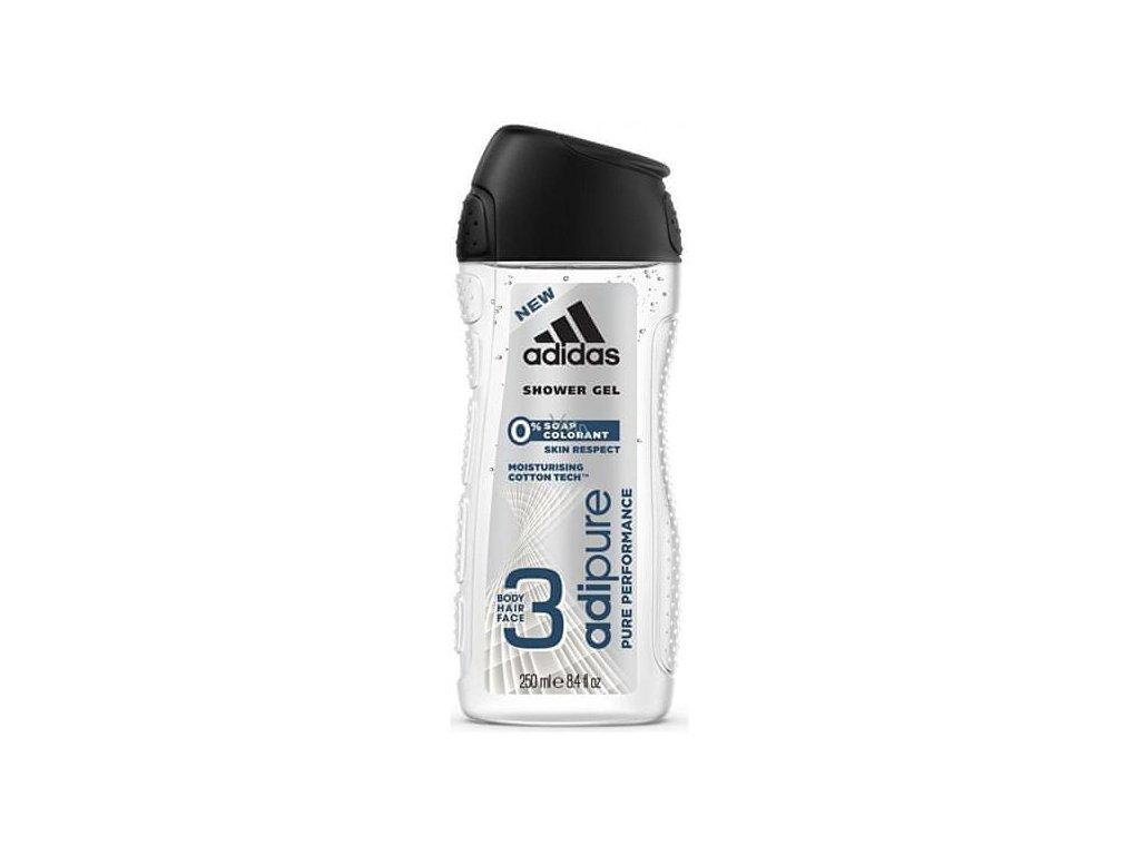 Adidas Adipure 3 in1 sprchový gel 250 ml