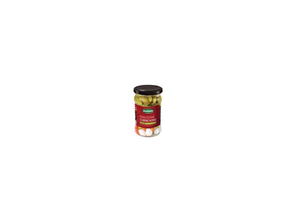 Avokádo Okurky cornichons tradiční 300 g