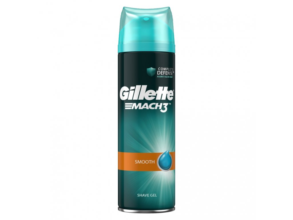 GILLETTE Mach3 Smooth Gel na holení 200 ml