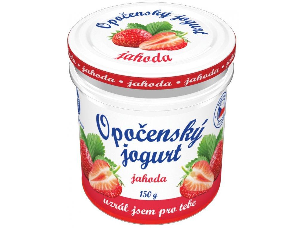 Opočenský jogurt jahoda