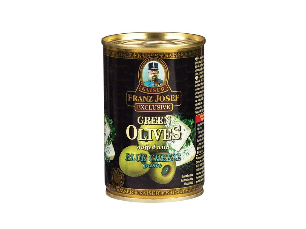 zelené olivy FJK ENG se sýrem