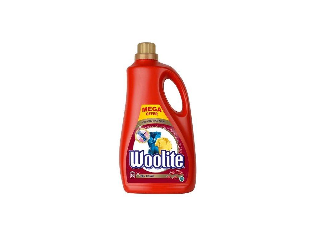 Woolite Mix Color tekutý prací prostředek 60 dávek 3,6 l
