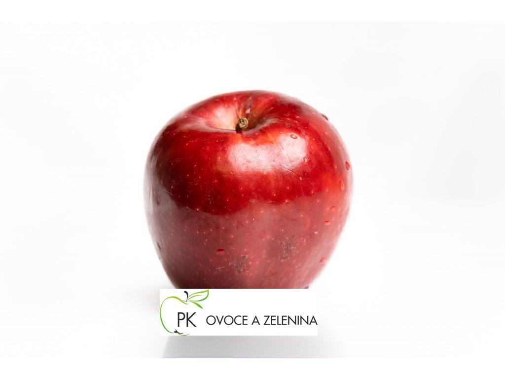 červené jablko