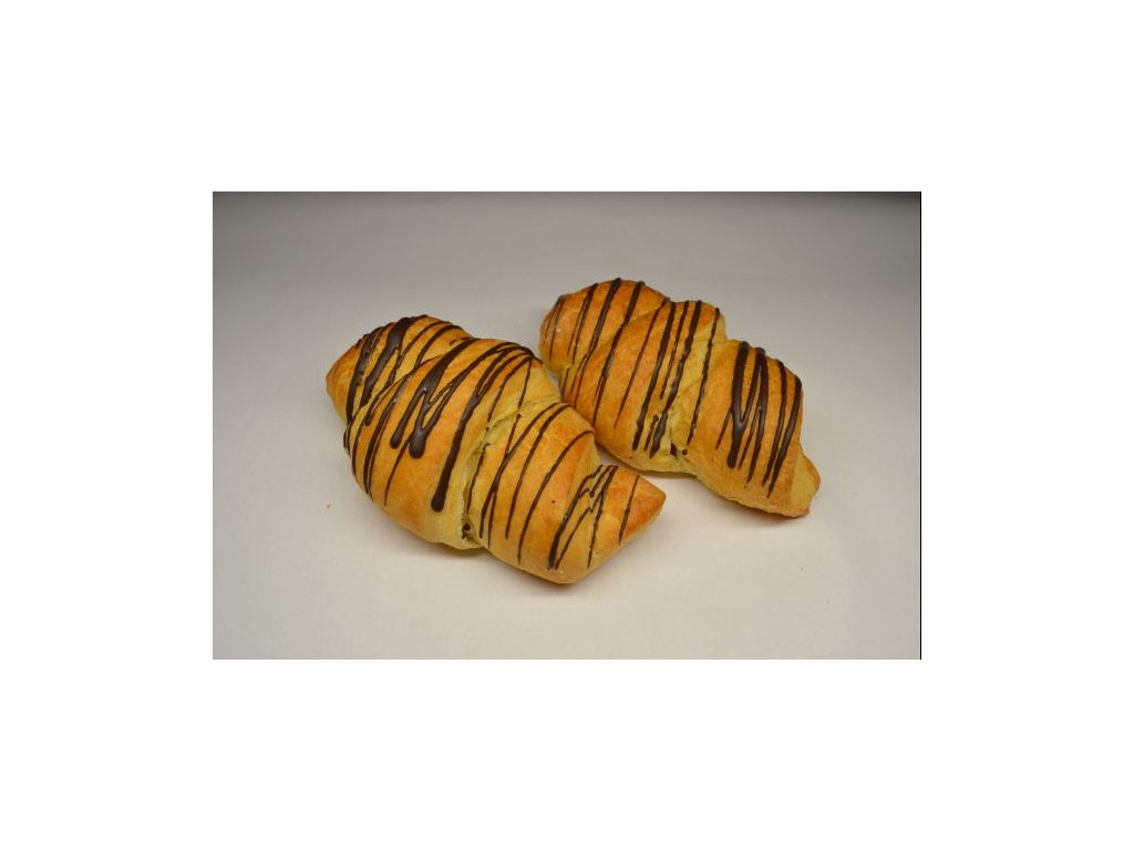 croissant s sokoladovou polevou 60g