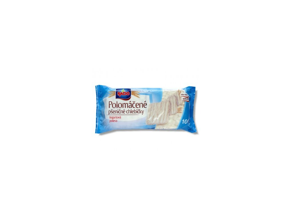 chlebicky polomacene psenicne jogurtove 100g racio