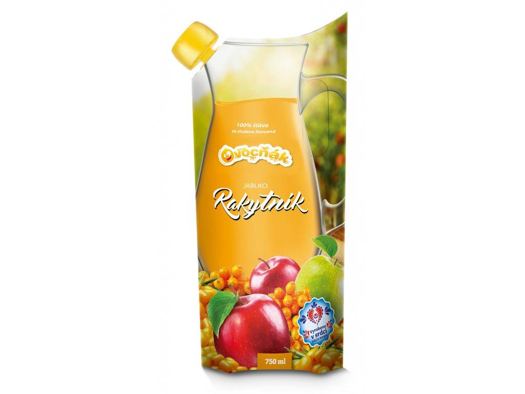 Ovocňák Mošt jablko rakytník 750 ml