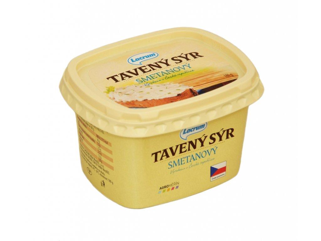 Tavený smetanový sýr 180g