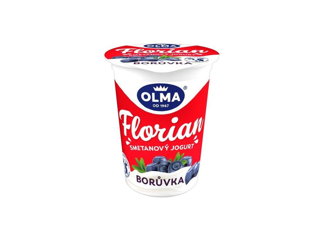 Olma Florian smetanový jogurt borůvka 150 g