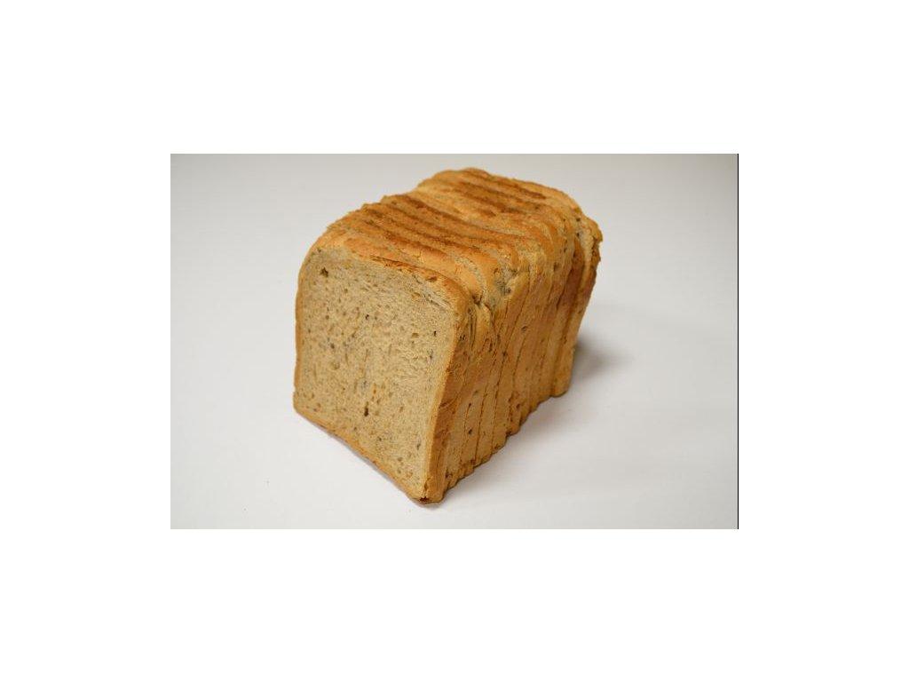 toustovy chleb tmavy 370g 750g