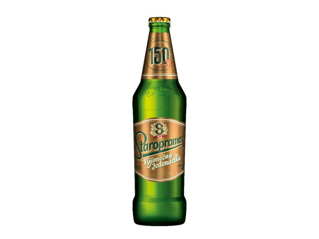 Staropramen jedenáctka pivo ležák světlý 0,5 l