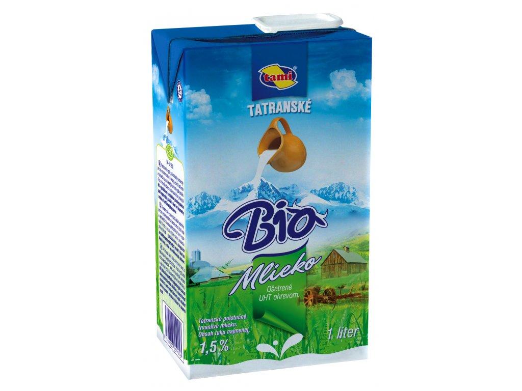 BIO Mlieko 1 l TETRA PAK