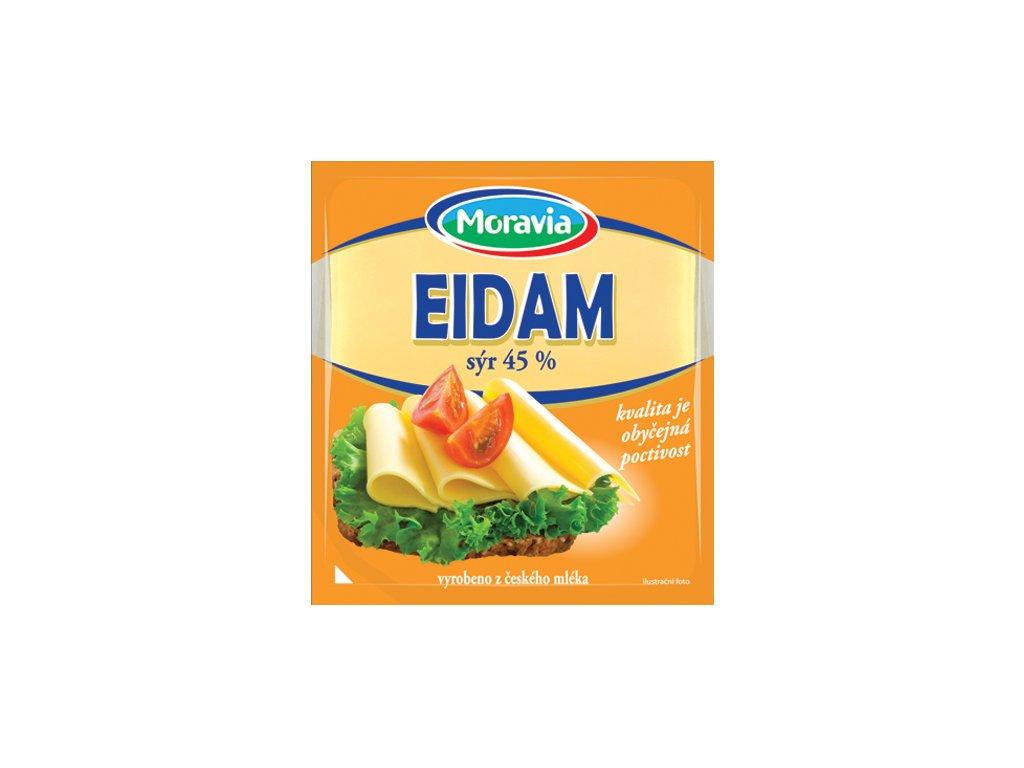 E26 Eidam platky 45% 100 g