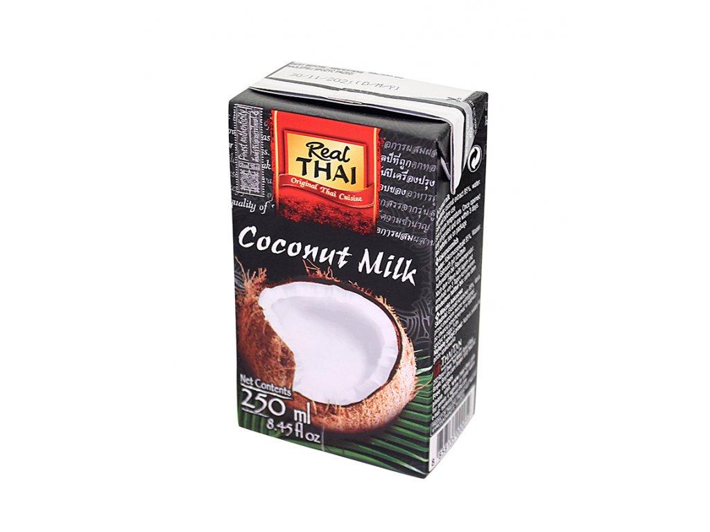 Real Thai Kokosové mléko 250 ml