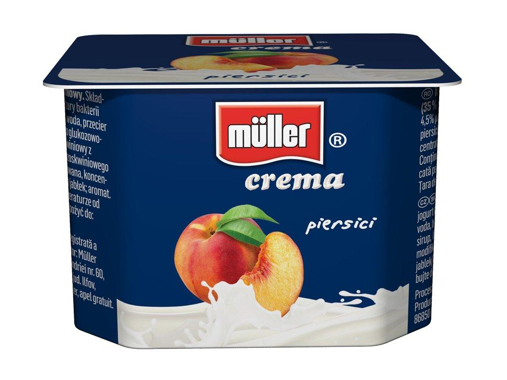 Crema peach 125g
